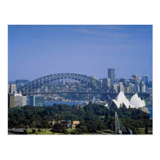 Sydney Harbor Bridge, Sydney, Australia Postcard