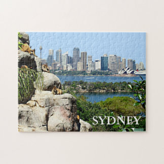 Sydney Harbor from the Zoo Jigsaw Puzzle