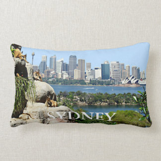 Sydney Harbor from the Zoo Lumbar Pillow