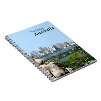 Sydney Harbor from the Zoo Notebook