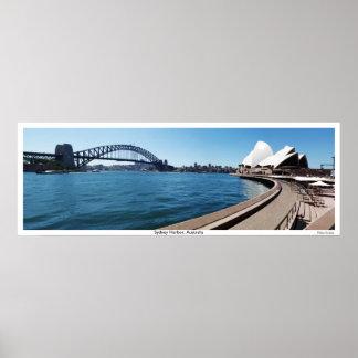 Sydney Harbor, New South Wales, Australia Poster