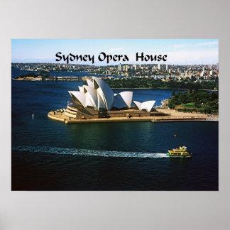 Sydney Harbor Oprea House Poster