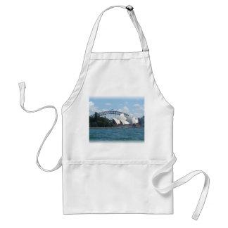 sydney harbour adult apron