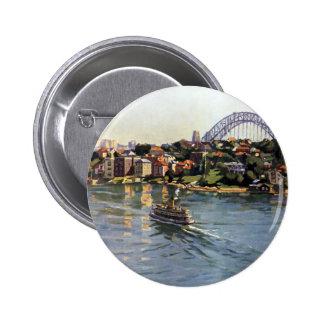 Sydney Harbour Australia Buttons
