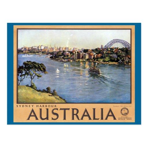 Sydney Harbour, Australia Postcards