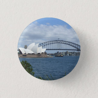 Sydney Harbour Badge Pinback Button