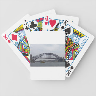 Sydney Harbour Bicycle Playing Cards