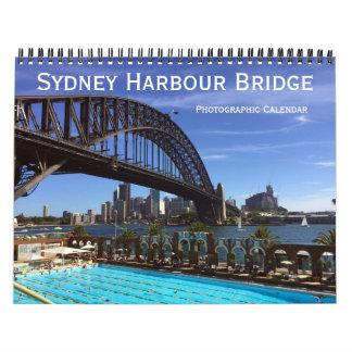 sydney harbour bridge 2018 calendar