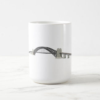 Sydney Harbour Bridge: 3D Model: Classic White Coffee Mug