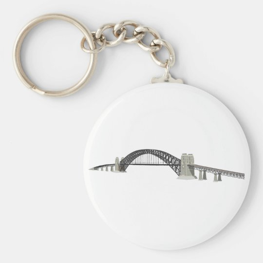 Sydney Harbour Bridge: 3D Model: Keychain