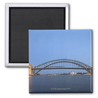 Sydney Harbour Bridge and Opera House at dusk Magnet