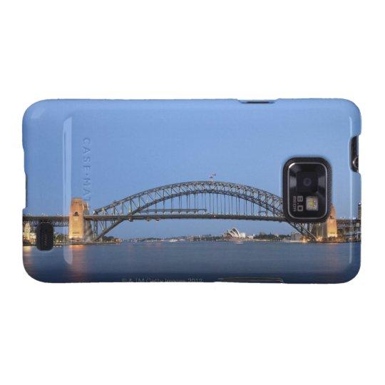Sydney Harbour Bridge and Opera House at dusk Samsung Galaxy S2 Case