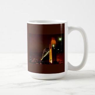 Sydney Harbour Bridge at Night Classic White Coffee Mug