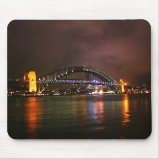 Sydney Harbour Bridge at Night Mouse Pad