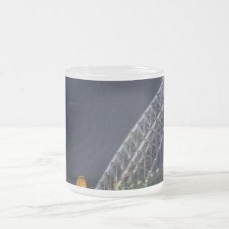 Sydney Harbour Bridge Austrailia Frosted Glass Coffee Mug