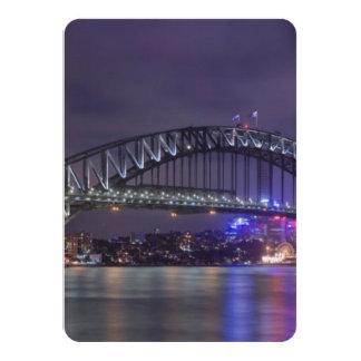 Sydney Harbour Bridge Austrailia 4.5x6.25 Paper Invitation Card