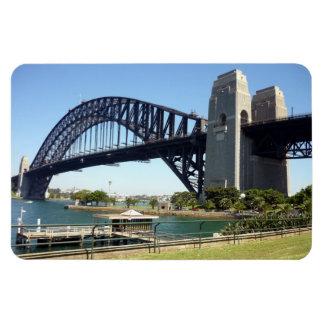 sydney harbour bridge green magnet