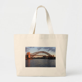 Sydney Harbour Bridge Large Tote Bag