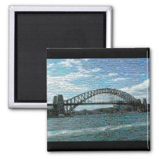 Sydney Harbour Bridge magnet (mosaic)