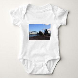 Sydney Harbour Bridge & Opera House Baby Bodysuit