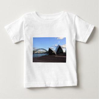 Sydney Harbour Bridge & Opera House Baby T-Shirt