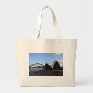 Sydney Harbour Bridge & Opera House Large Tote Bag