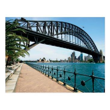 sumners sydney harbour bridge postcard