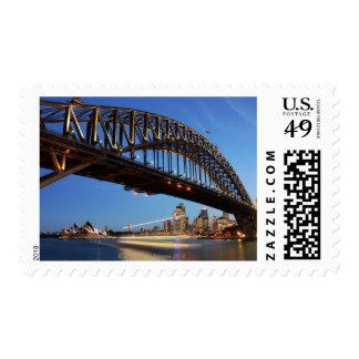 Sydney Harbour Bridge, Sydney Opera House and 2 Postage