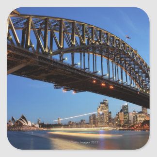 Sydney Harbour Bridge, Sydney Opera House and 2 Square Sticker