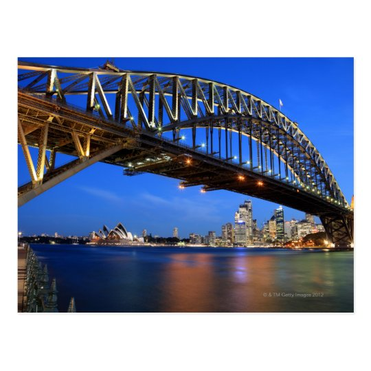 Sydney Harbour Bridge, Sydney Opera House and Postcard