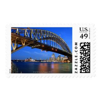 Sydney Harbour Bridge, Sydney Opera House and Stamp