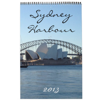 sydney harbour calendar 2013
