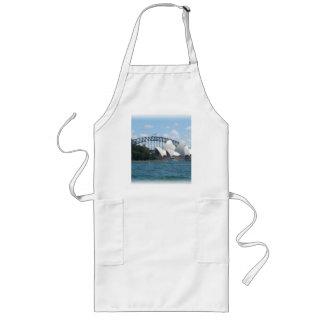 sydney harbour long apron