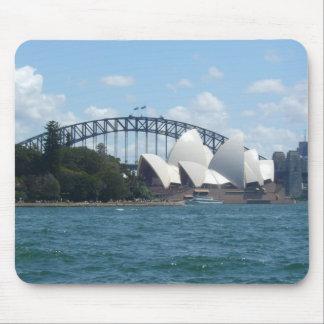 sydney harbour mouse pad