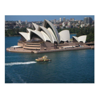 Sydney Harbour, New South Wales Postcard