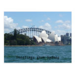 sydney harbour postcard