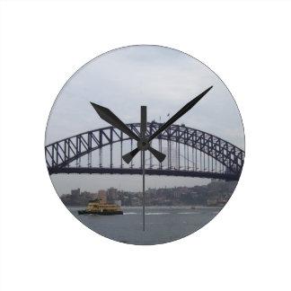 Sydney Harbour Round Clock