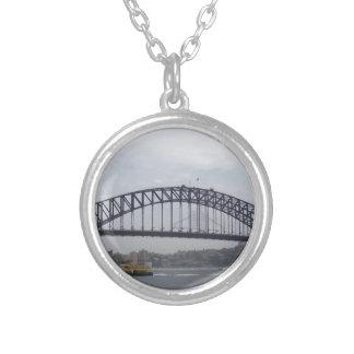 Sydney Harbour Round Pendant Necklace