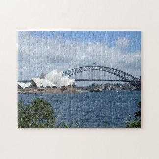 Sydney Harbour Skyline Puzzle