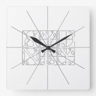 Sydney Large Relief Sculpture Style Wall Clock