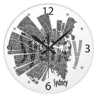 Sydney Map Clock