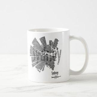 Sydney Map Mug