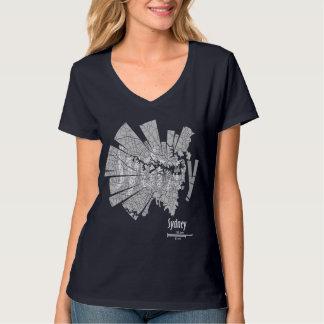 Sydney Map T-Shirt for Women