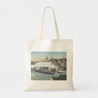 Sydney Maritime Museum from Hotel Balcony. 1998 Tote Bag