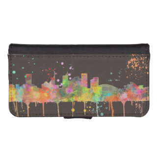 SYDNEY, NSW AUSTRALIA SKYLINE iPhone SE/5/5s WALLET CASE