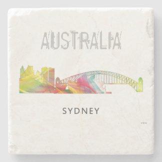 SYDNEY, NSW AUSTRALIA SKYLINE WB1-2 STONE COASTER