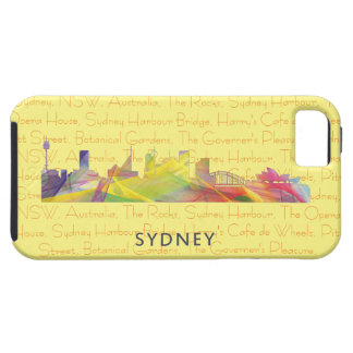 SYDNEY, NSW AUSTRALIA SKYLINE WB1 iPhone SE/5/5s CASE