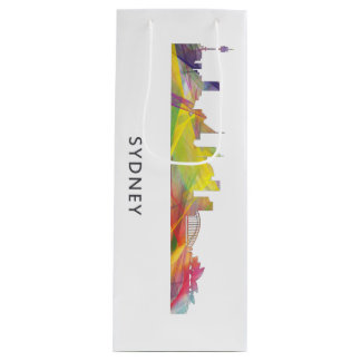 SYDNEY, NSW AUSTRALIA SKYLINE WB1 WINE GIFT BAG
