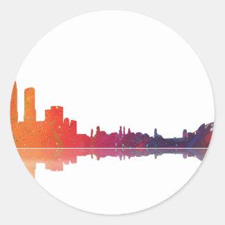 Sydney NSW Skyline Classic Round Sticker