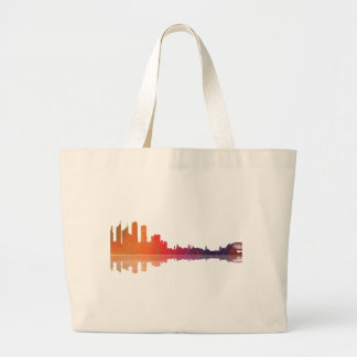 Sydney NSW Skyline Large Tote Bag